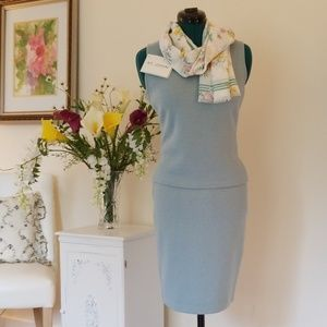 St. John Collection SleevelesTop and Pencil Skirt